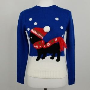 Forever 21 Holiday / Christmas Puppy Sweater